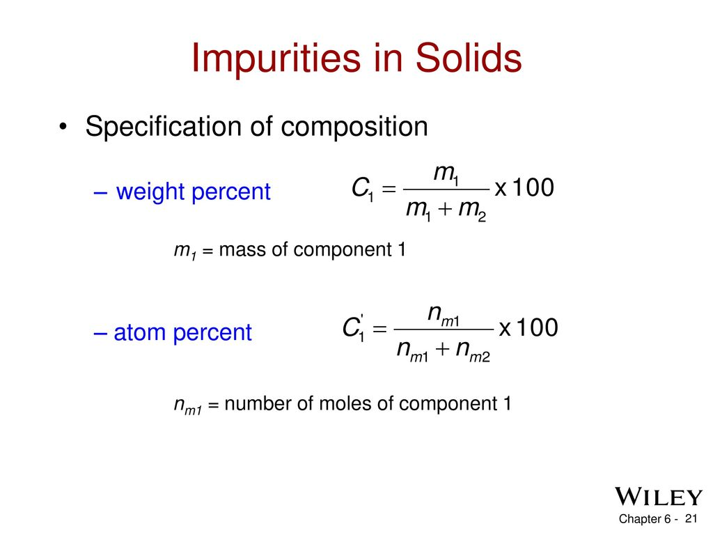 Chapter 6 Imperfections In Solids Ppt Download