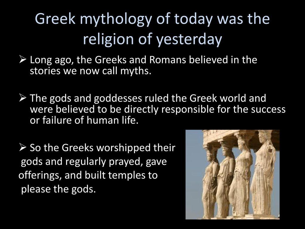 intro to greek mythology influence