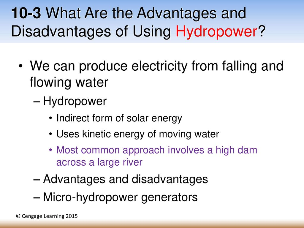 advantages and disadvantages increased longevity Learn the advantages & disadvantages of microinverters research and broken down the advantages and disadvantages of and longevity and.