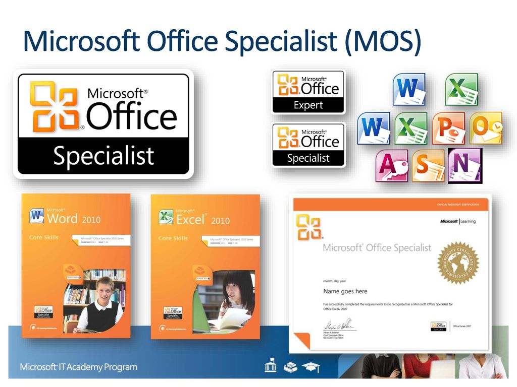 Preparing students and educators to succeed by providing access to 19 microsoft office specialist mos xflitez Gallery