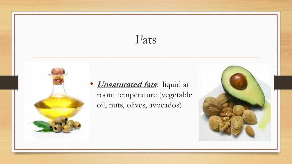 Are Plant Fats Solid At Room Temperature
