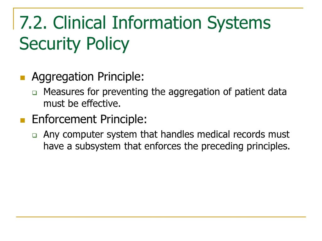 information system security principles