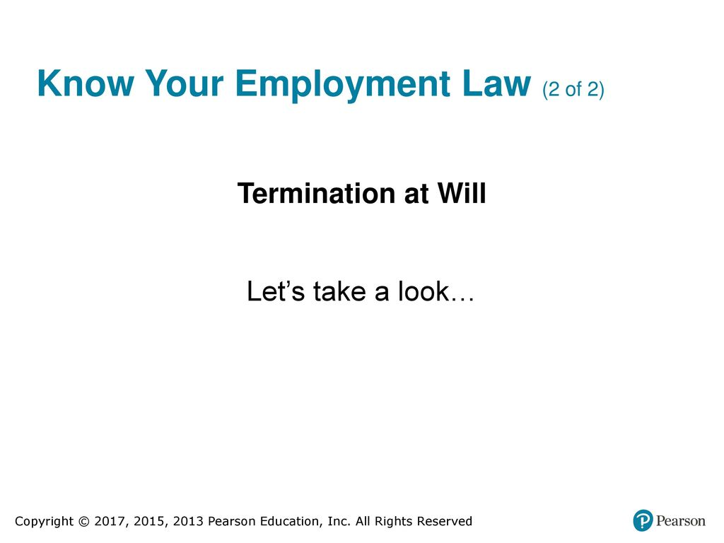 employment at will doctrine three major exceptions The employment-at-will doctrine: three major exceptions in the united states, employees without a written employment contract generally can be fired for good cause, bad cause, or no cause at all judicial exceptions to the rule seek to prevent wrongful terminations work joyfully and peacefully.