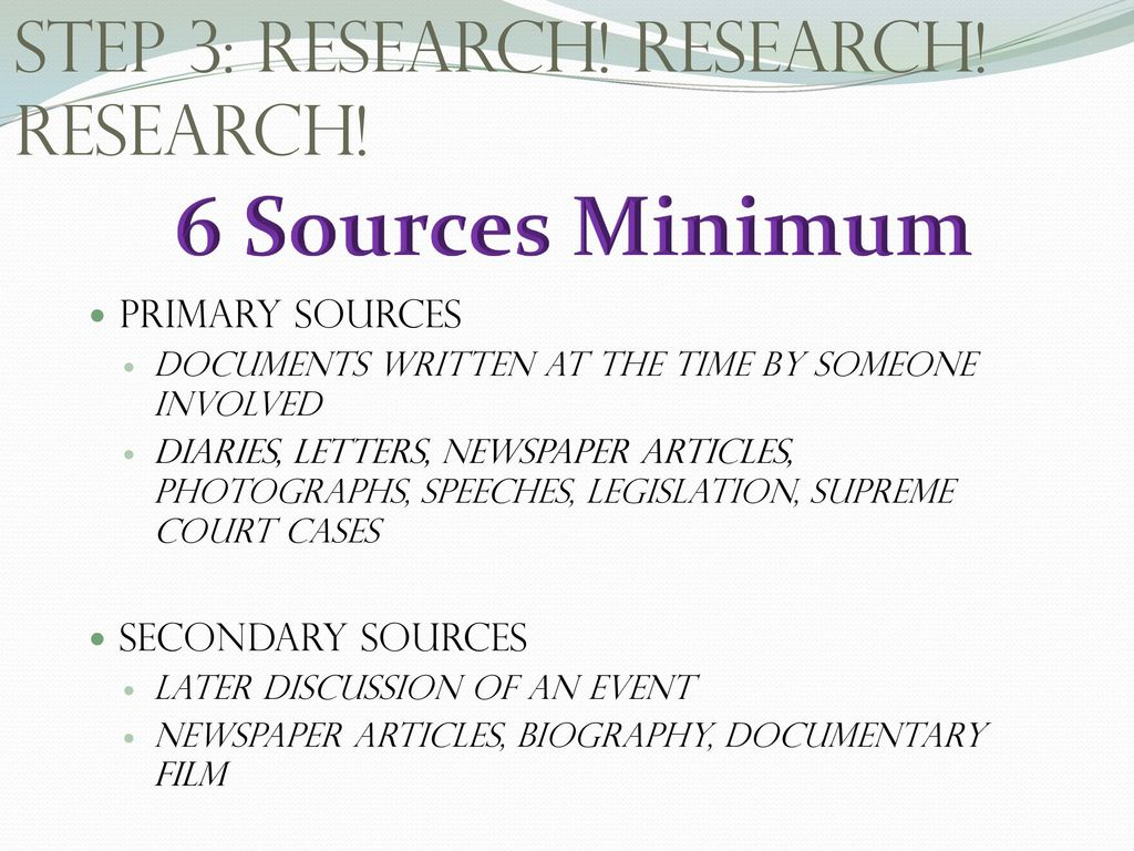 primary source for research paper There are three main ways to uses sources in your research paper you may quote you may paraphrase or you may summarize all three require an in-text (parenthetical.