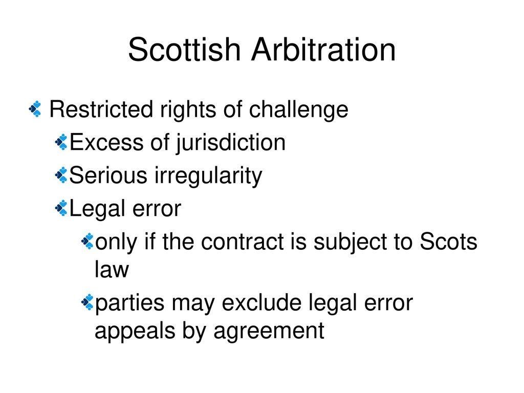 jurisdiction clause scotland