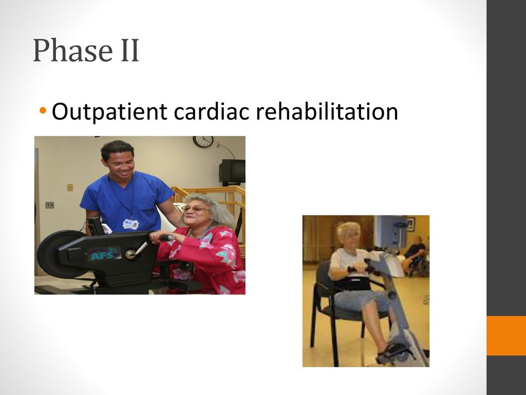 effectiveness of phase ii cardiac rehabilitation The literature review of the effectiveness of early start cardiac rehabilitation program phase ii post cardiac event monashhealth author: yasmeen kashif.