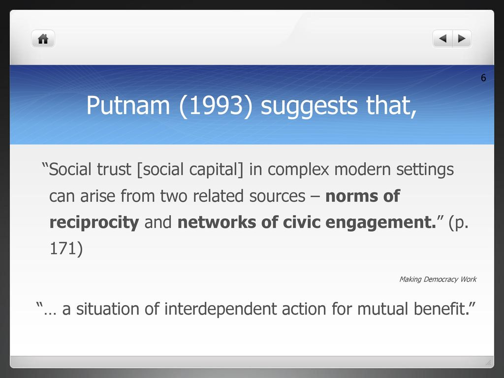 putnam 1993 making democracy work