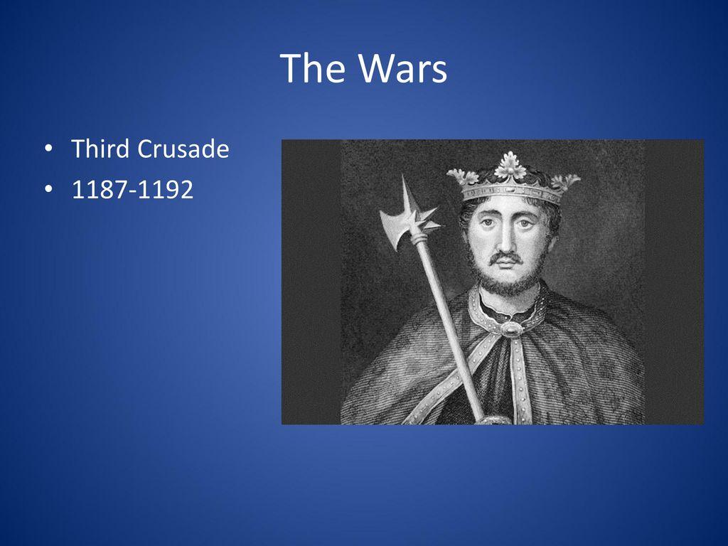 The Wars Third Crusade 1187-1192