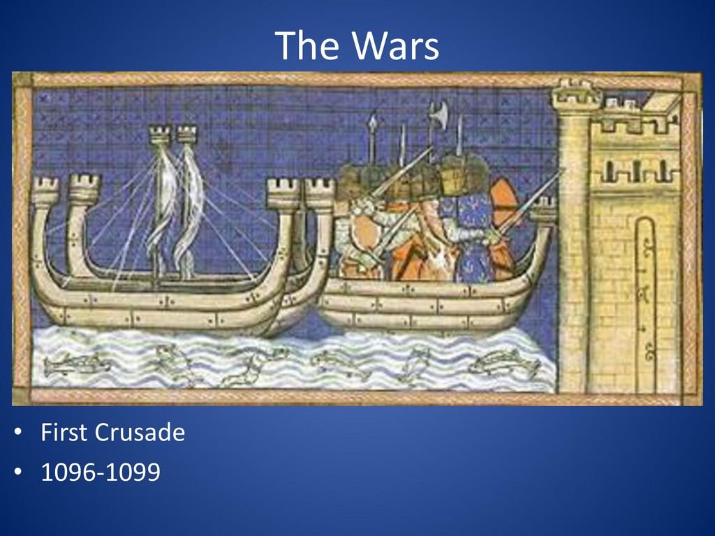 The Wars First Crusade 1096-1099