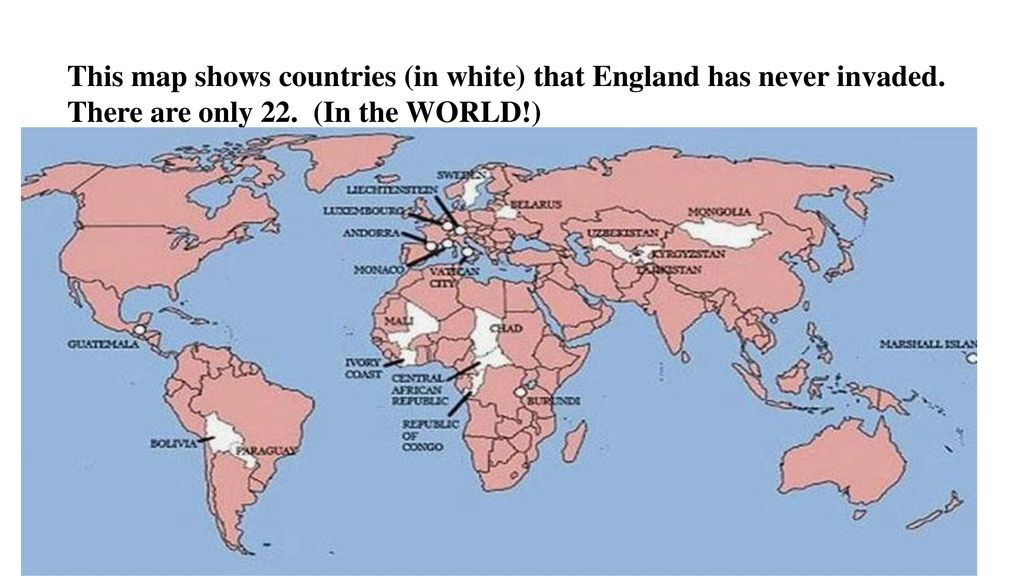 Government ppt download this map shows countries in white that england has never invaded gumiabroncs Image collections