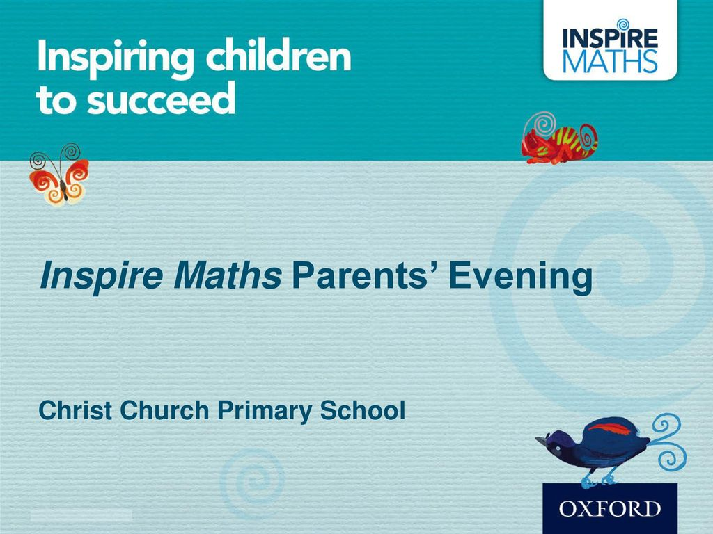 Inspire Maths Parents' Evening