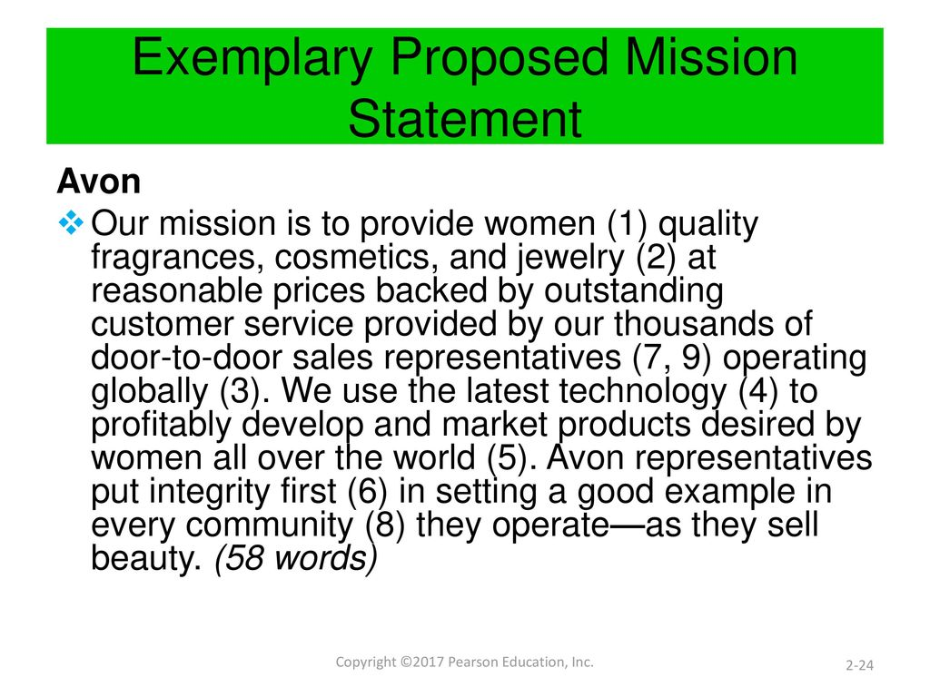components of mission statement pdf
