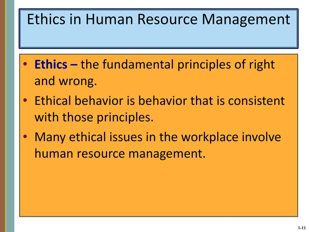 ethical dilemmas in hr managements Human resources ethical dilemma  ethical dilemmas have inquired  from the perspective of human resource management, there is a  the hr has the option.