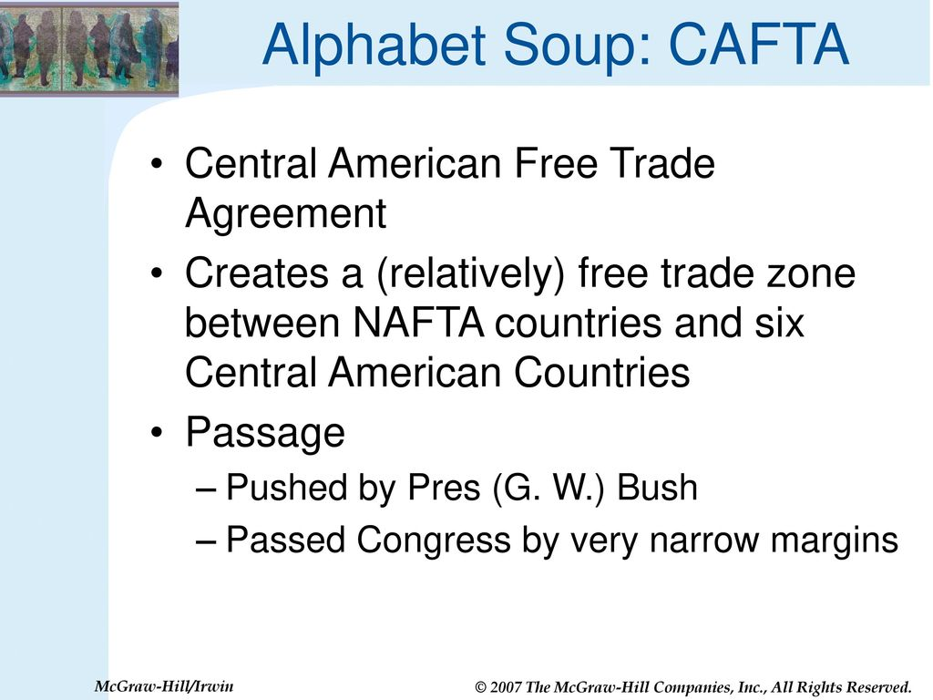 Nafta cafta gatt wto are trade agreements good for us ppt alphabet soup cafta central american free trade agreement platinumwayz