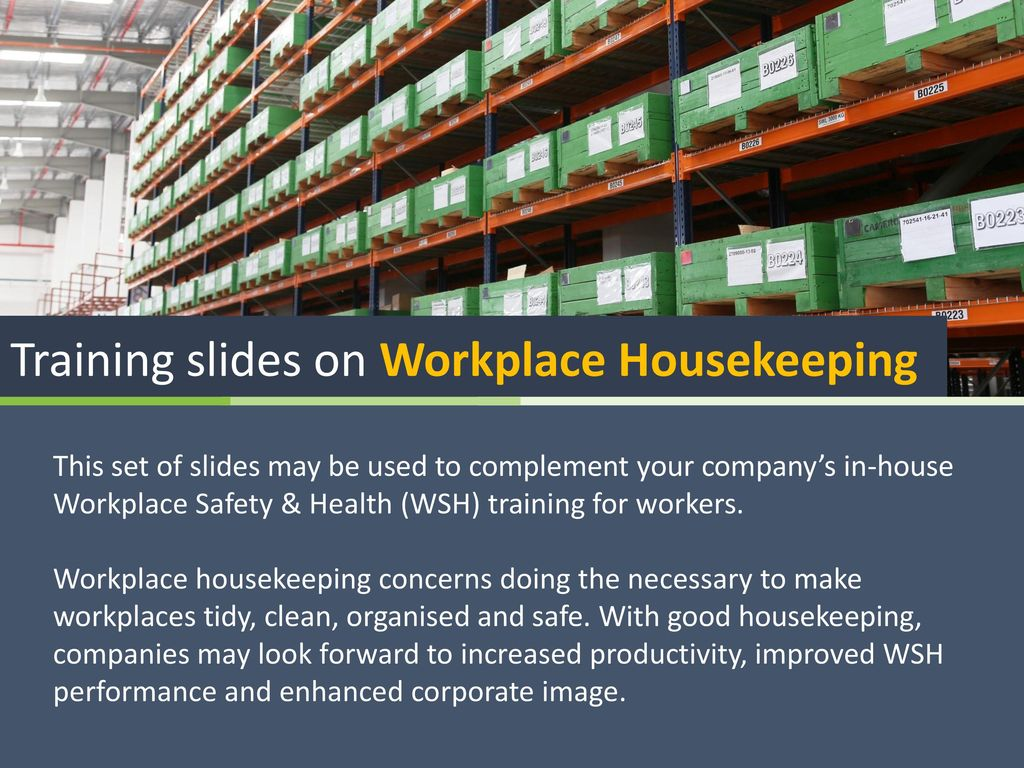www housekeeping training manuals and examples