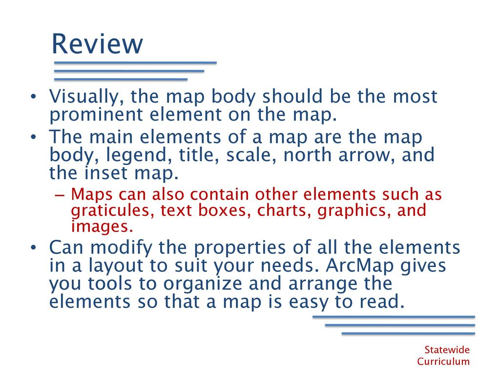 9 north arrow scale bar money symbols clip art simple electrical learning arcgis desktop training course review visually2c the map body should be the most prominent element on the map 12100069 9 north arrow scale bar biocorpaavc