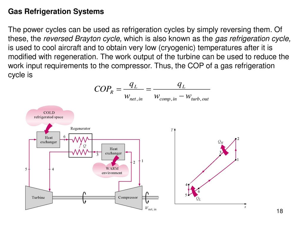 Chapter 11 refrigeration cycles study guide in powerpoint to gas refrigeration systems pooptronica