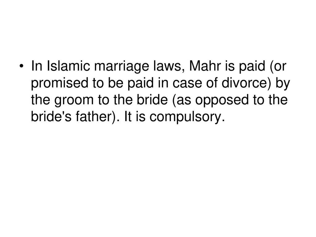 bride for divorce groom