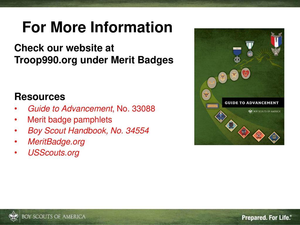 Merit Badge (MB) Jump Start - ppt download