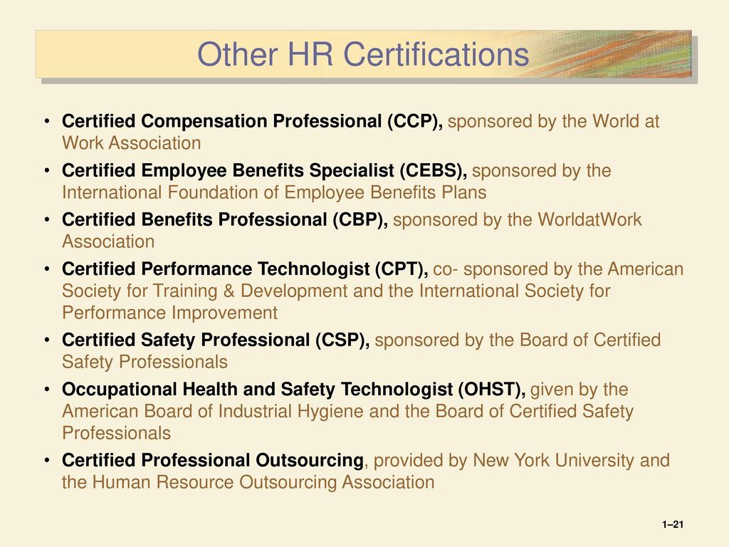 Chapter ppt download other hr certifications 1betcityfo Image collections