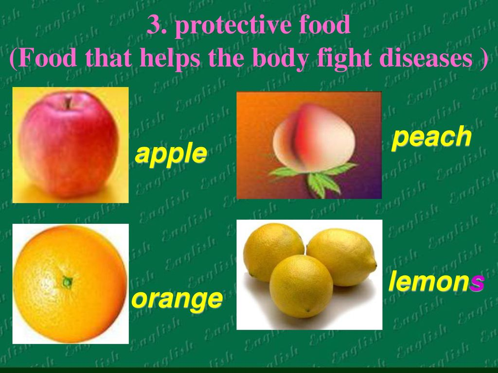 Protective Food Food That Helps The Body Fight Diseases on Body Muscle Workout Chart