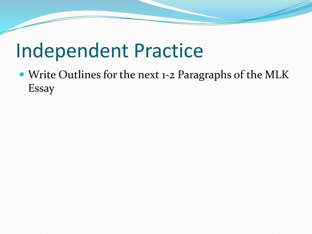 basic 5 paragraph essay outline