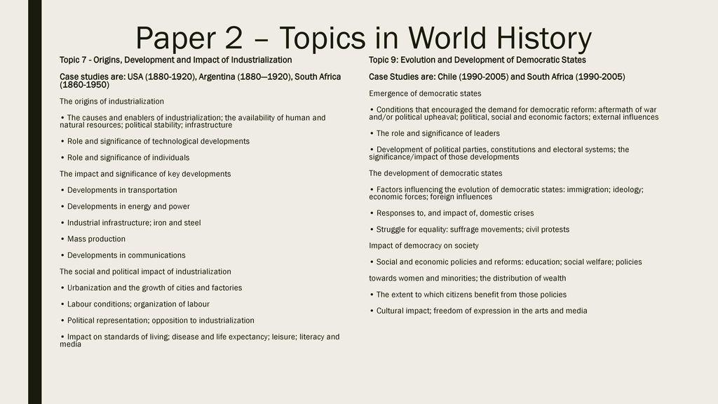 7 interesting political essay topics