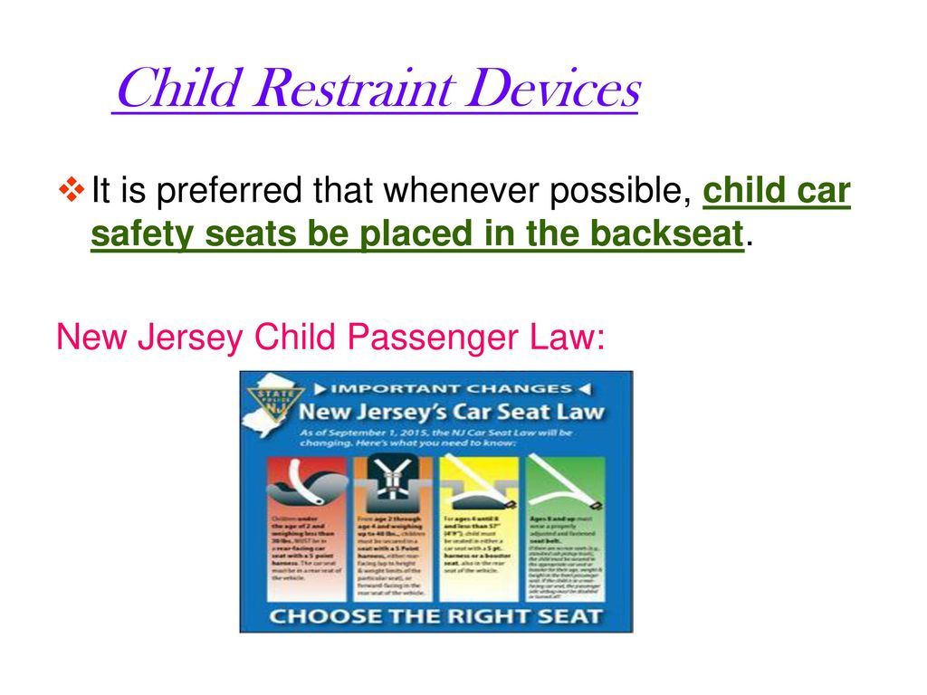 New Jersey\'s Seat Belt Law - ppt download