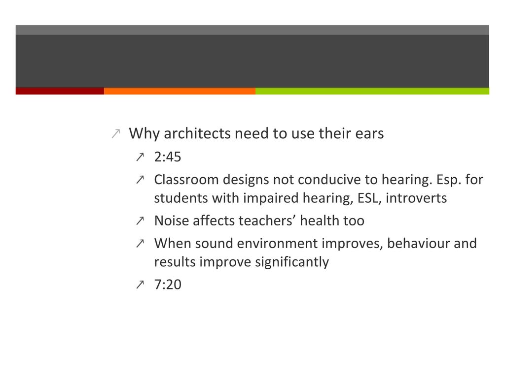 Classroom Design And How It Influences Behavior ~ Creating a sensory friendly classroom ppt download