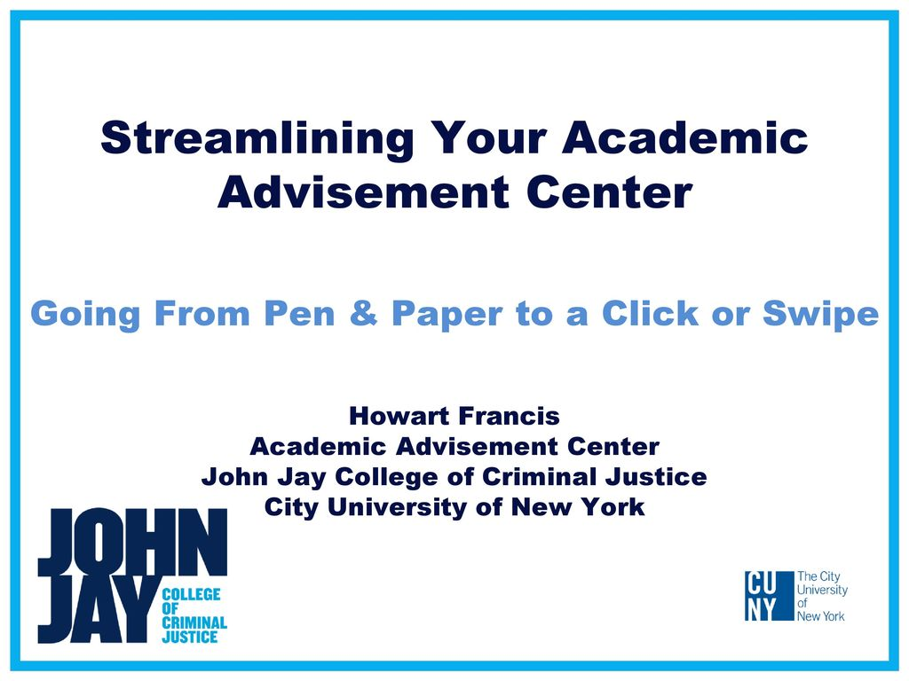 academic advisement Nacada promotes and supports quality academic advising in institutions of higher education to enhance the educational development of students.