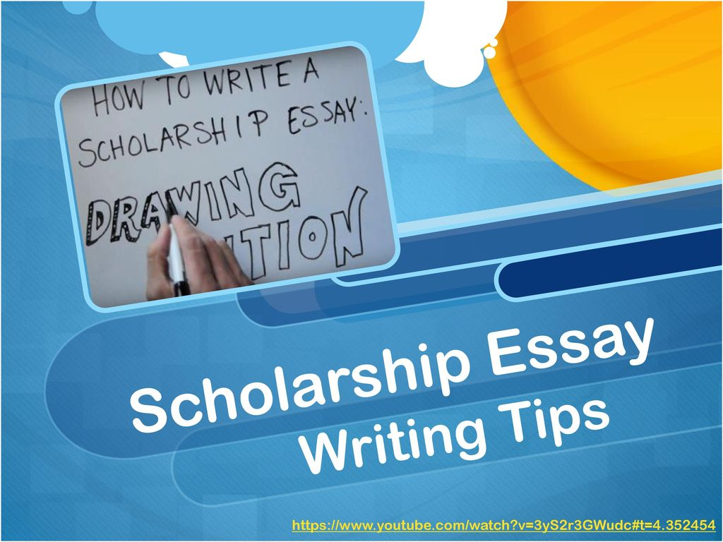 Writing Essays or Personal Statement for Scholarships
