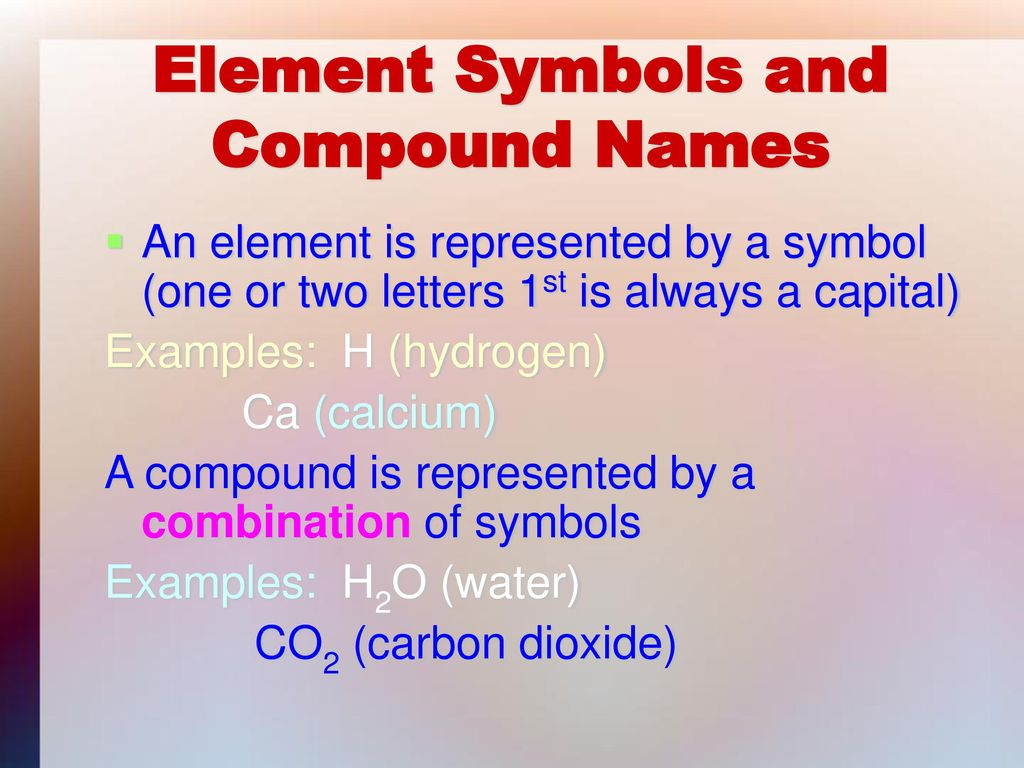 Carbon dioxide periodic table symbol unclog toilets diagram elements compounds and mixtures ppt video online download element symbols and compound names 12117243 carbon dioxide periodic table symbol gamestrikefo Gallery