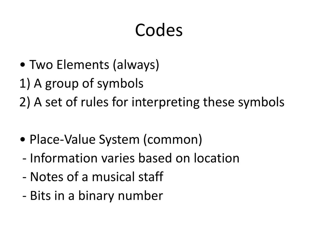 Number systems binary arithmetic ppt download codes biocorpaavc Gallery