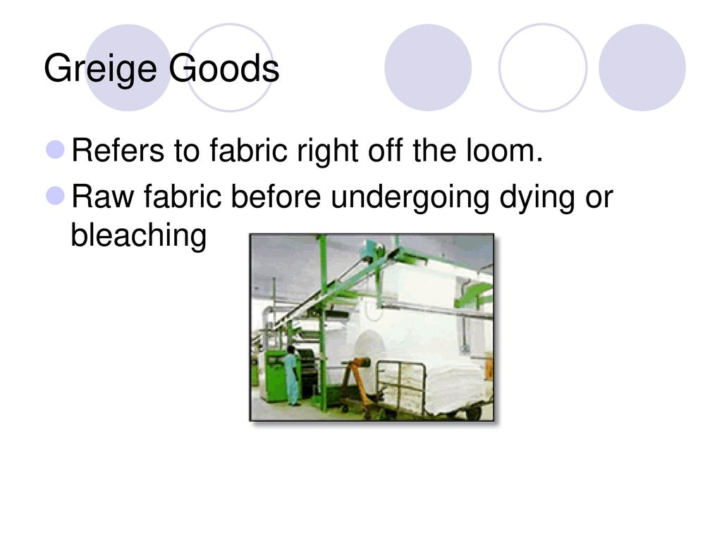 Woven Greige Goods – Cotton Content – Made in USA – Must Ship