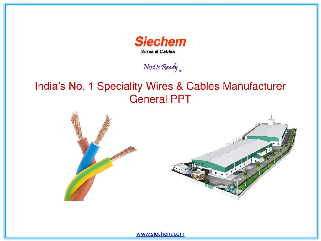 Indias No 1 Speciality Wires Cables Manufacturer Ppt Video Wiring Harness Suppliers India