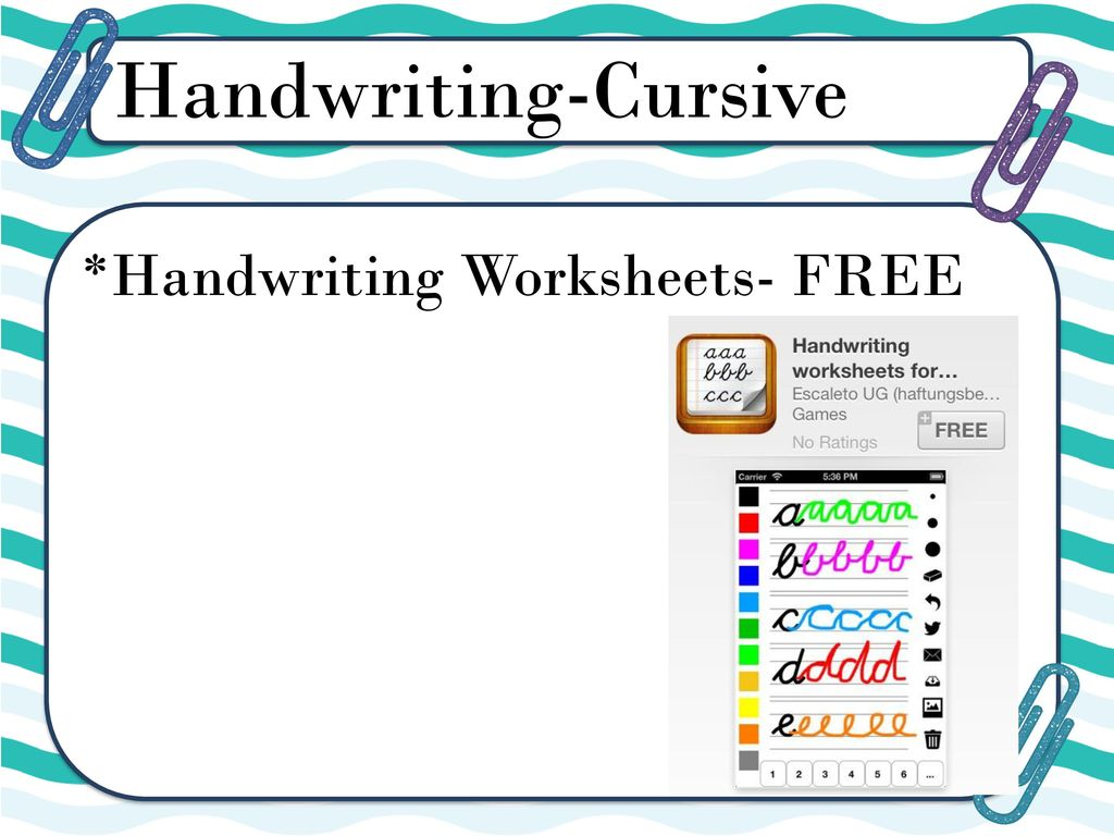 Penpals Handwriting Worksheets - The Best and Most Comprehensive ...
