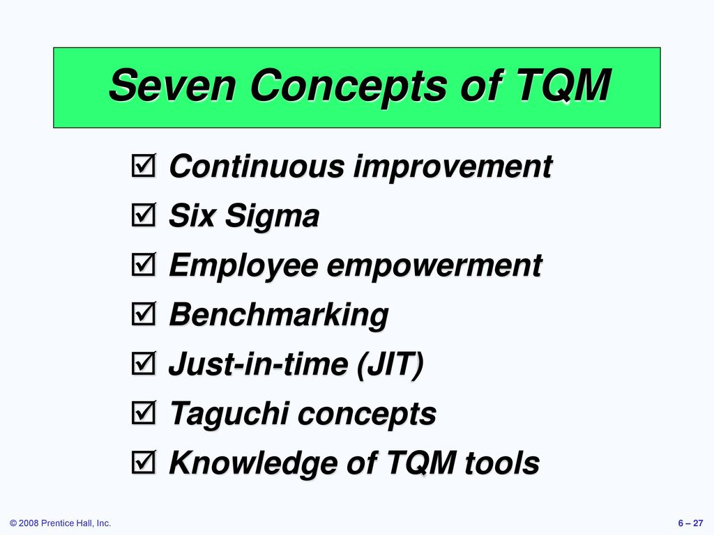 the relationships of tqm six sigma The purpose of this study was to explore the dimensions of total quality  management (tqm) and six sigma methodology through an extensive literature  review.