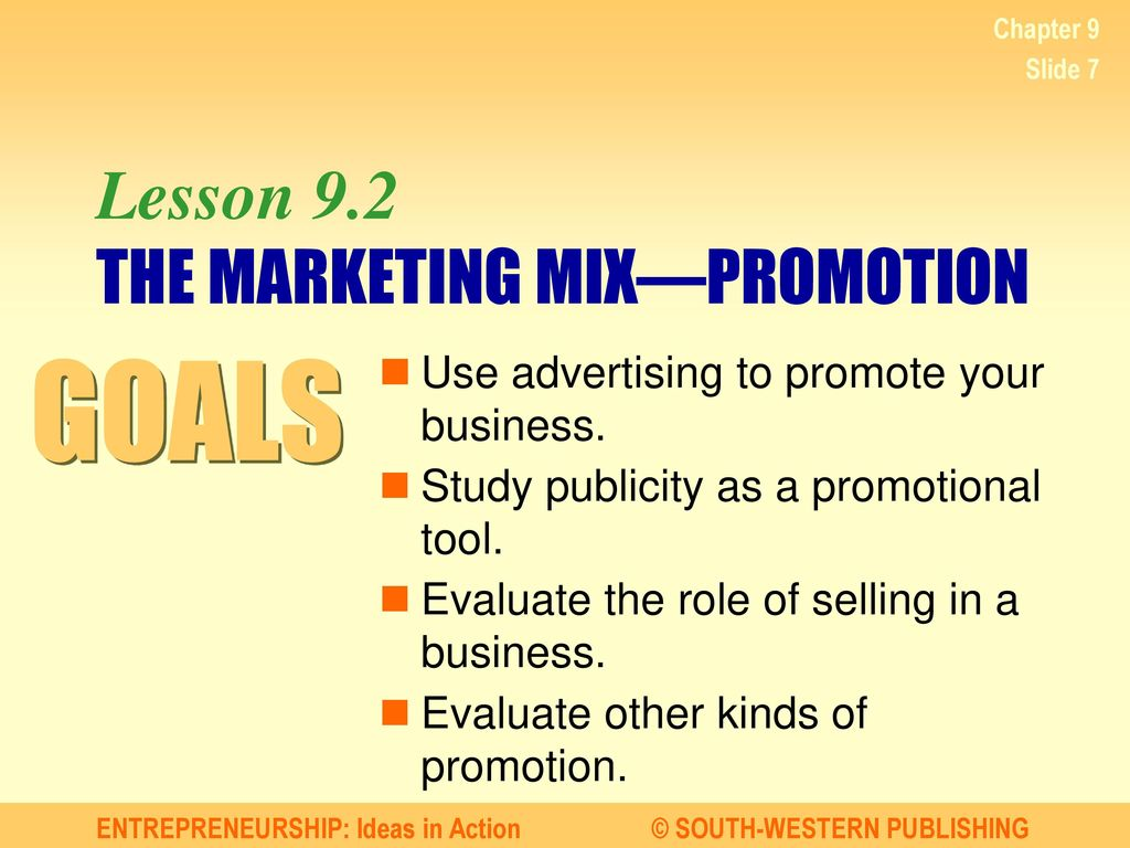 the role of promotion tools and The application of promotion mix has played a crucial role in improving business   each of these promotional, tools has its own unique characteristics, cost,.