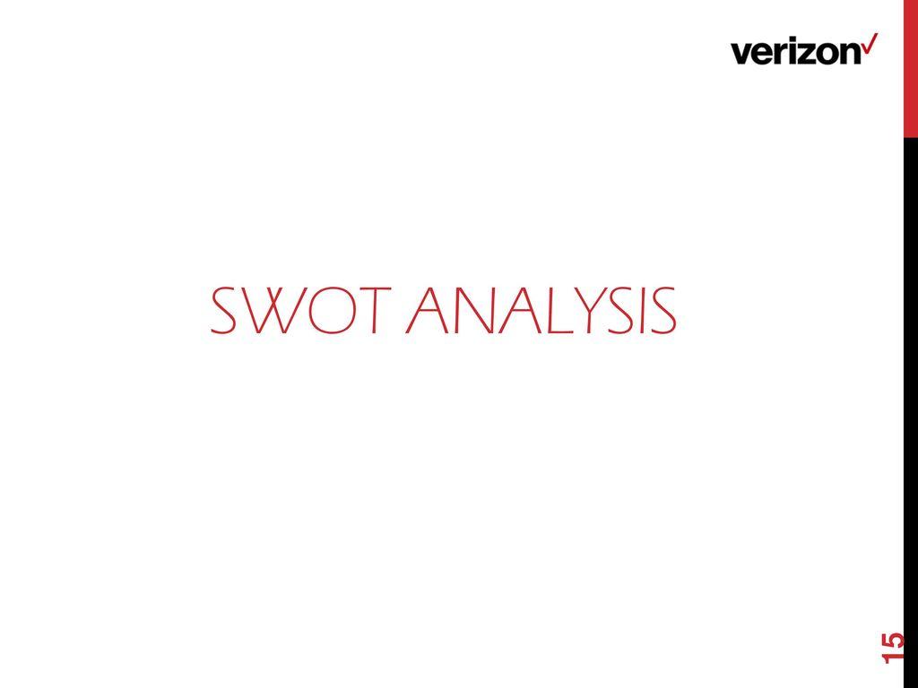 verizon swot analysis Verizon communications inc - strategy and swot report verizon communications inc - strategy and swot report, is a source of comprehensive company data and information.