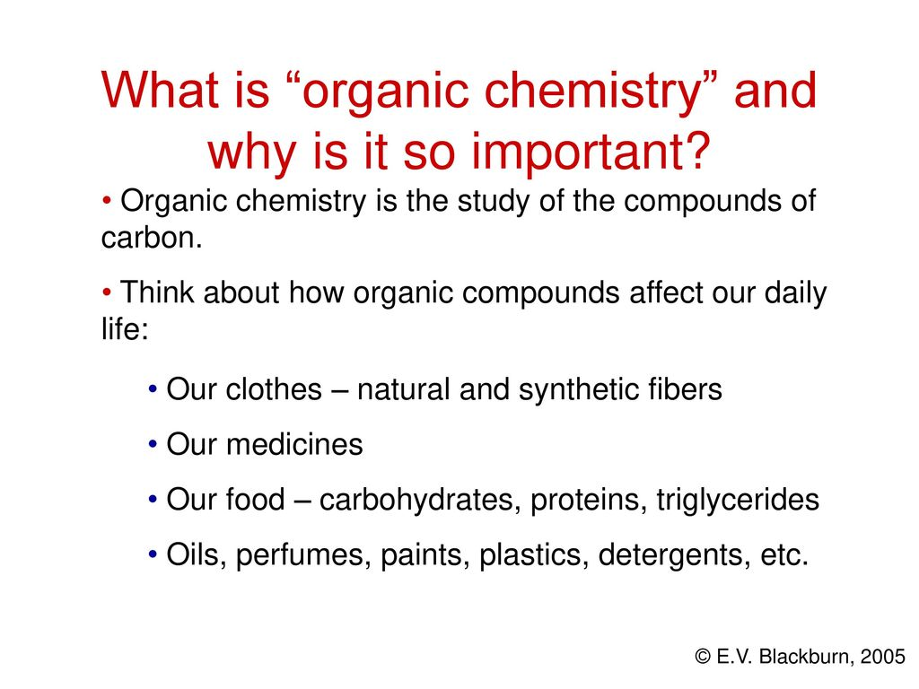 organic chemistry is important In this lesson we will learn about the history of organic chemistry, how it  first  developed, and how it became an important field of study today.