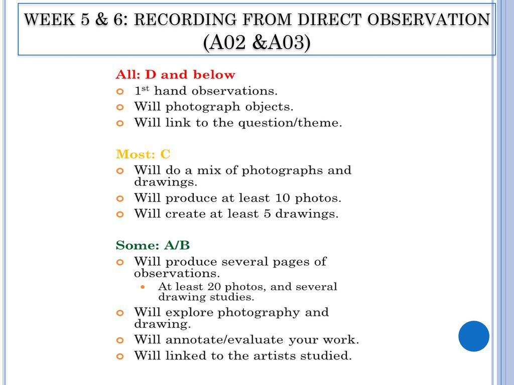 What Is the Definition of Direct Observation?