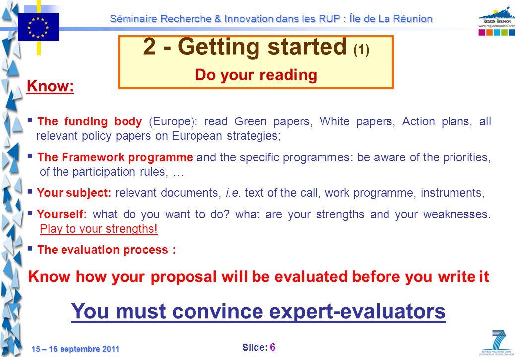 You must convince expert-evaluators