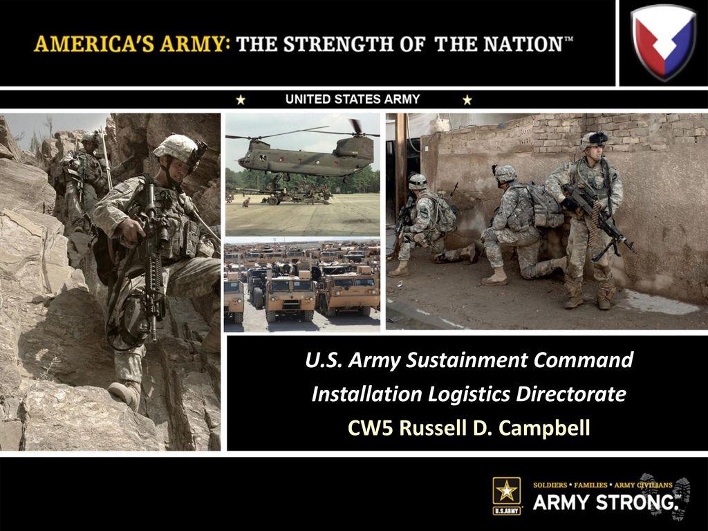 us army logistics