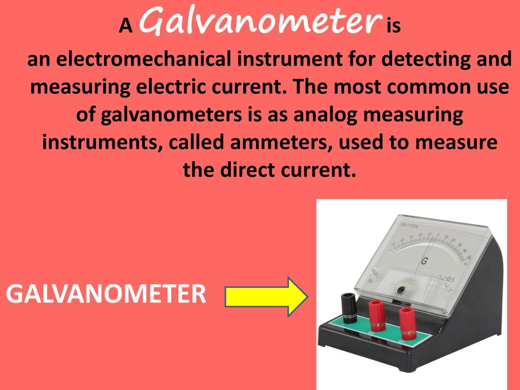 Instrument Current Electricity : Electronic sensors ppt video online download