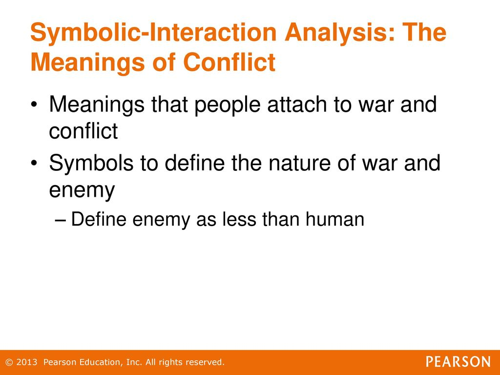 Chapter 17 war and terrorism ppt download 36 symbolic interaction buycottarizona Images