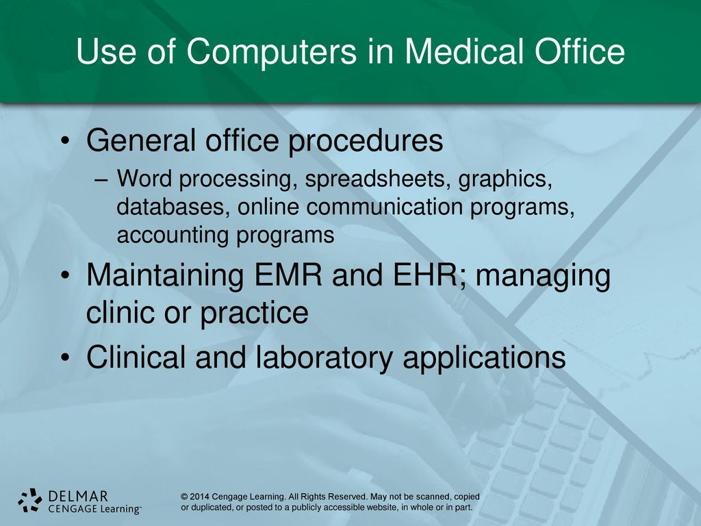 Computer application in medicine