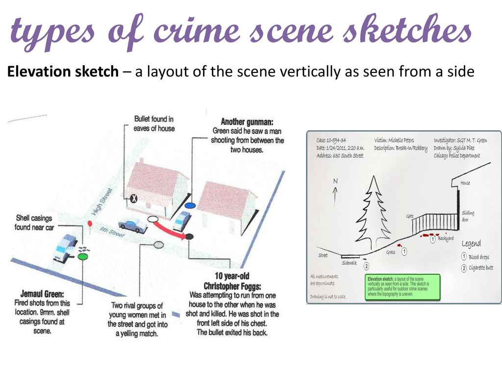 Types Of Line Drawing Algorithm : Crime scene sketch goals for this lesson ppt download