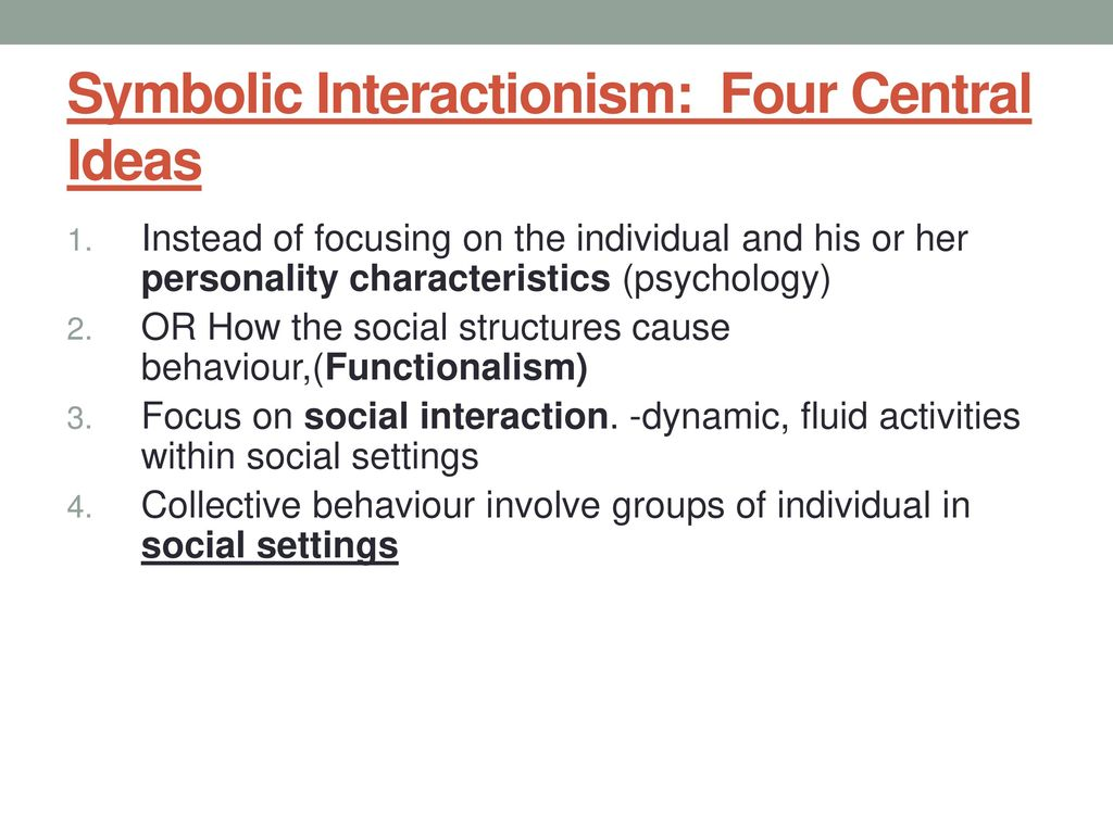 Collective behaviour defined ppt download 31 symbolic interactionism buycottarizona Images