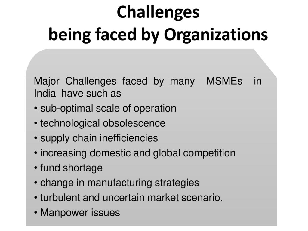 operation management issues faced by manufacturing organisation Operations management is the area concerned with the efficiency and effectiveness of the operation in support and development of the firm's strategic , manufacturing was more of an art than a (1999) have suggested that the major issues for operations management today are.