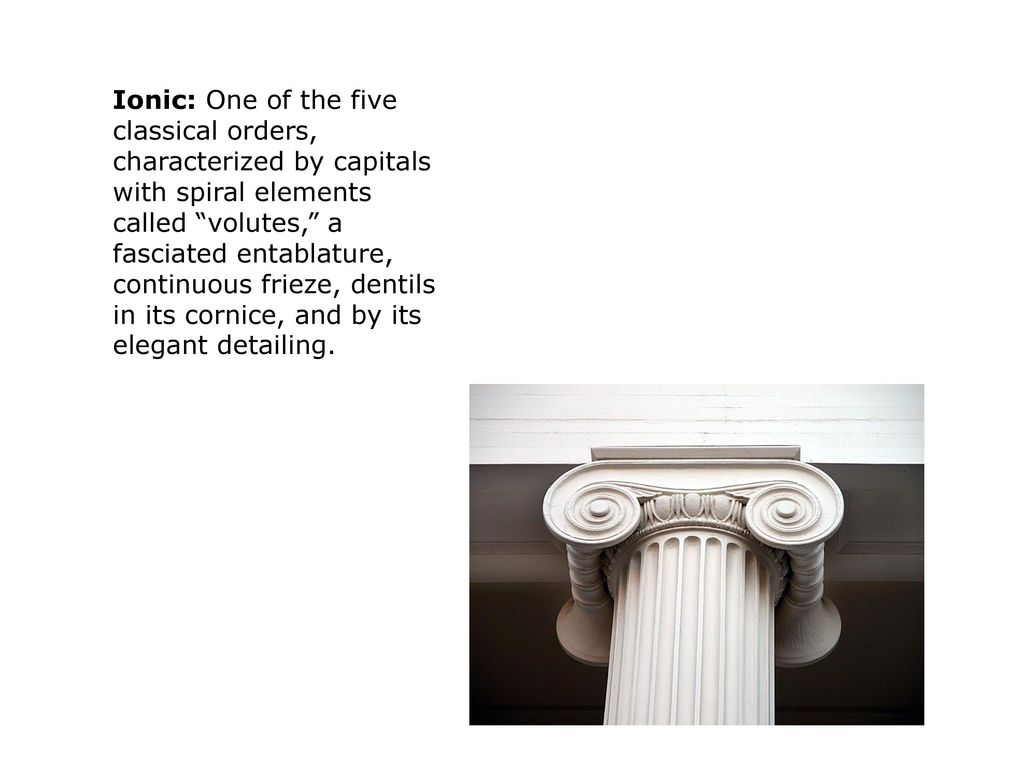 Architectural Terms Ppt Video Online Download